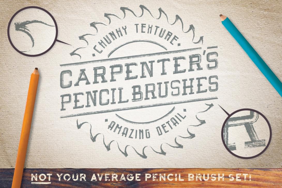 Carpenters-Pencil-Brushes