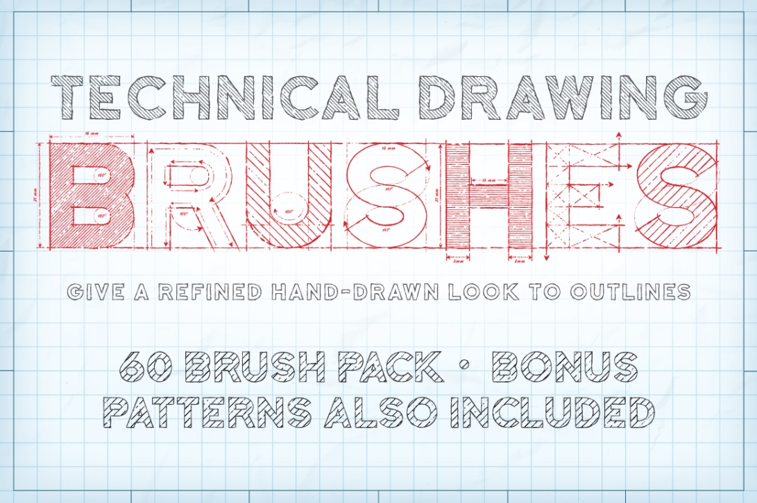 Technical-drawing-Illustrator-Brushes_1