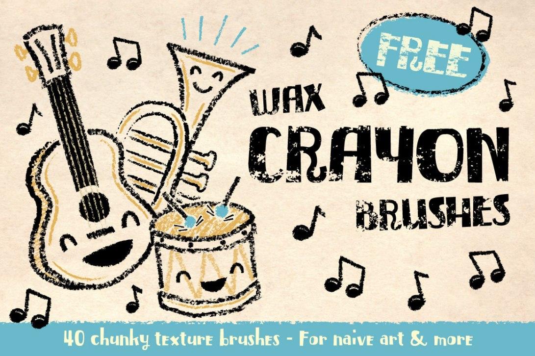 crayon-brushes