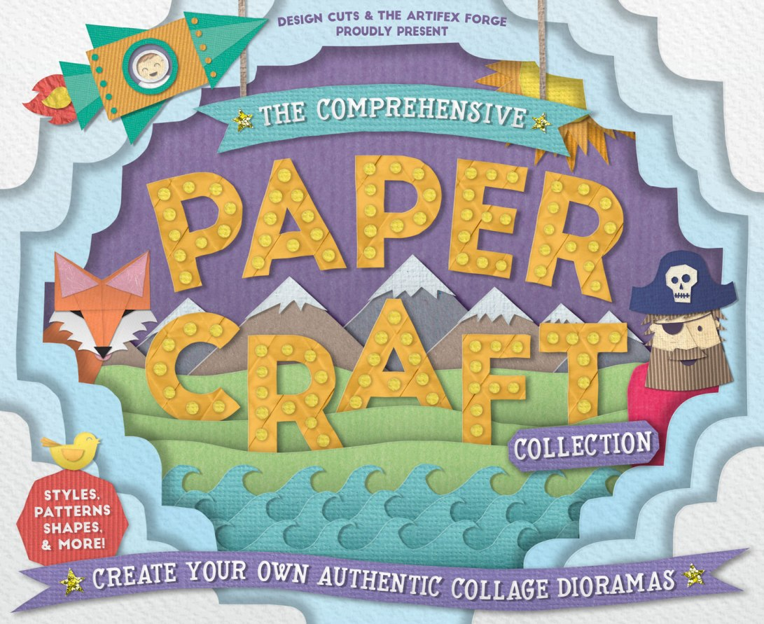 paper-craft-1-cover_styles_textures_patterns_brushes_shapes